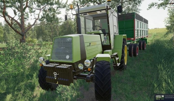 FS19 - Fortschritt Zt 320-323-A Mb Engine V1.0