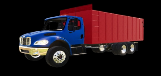 Photo of FS19 – Freightliner M2 Pack With Beds V1.0