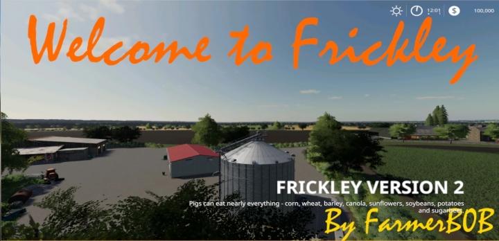 FS19 - Frickley Doncaster Uk V002