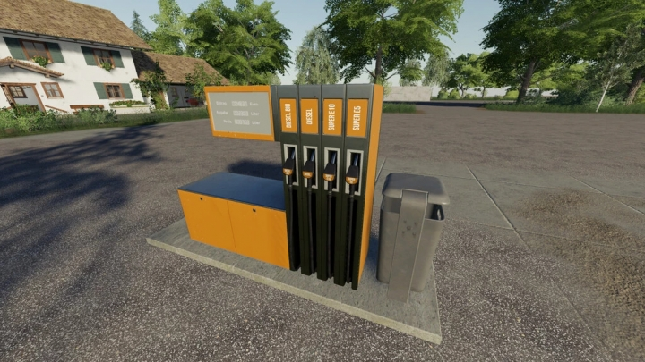FS19 - German Gas Station V1.1