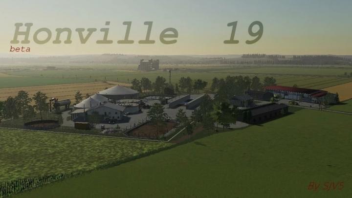 FS19 - Honville 19 V1.0