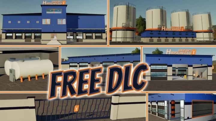 FS19 - Hot Logistic Dlc V1.0.0.1