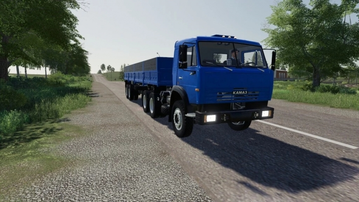 FS19 - Kamaz V1.0