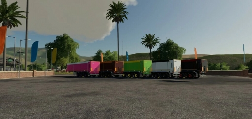 Photo of FS19 – Krampe 30/1070 Trailer V1.0.3.0