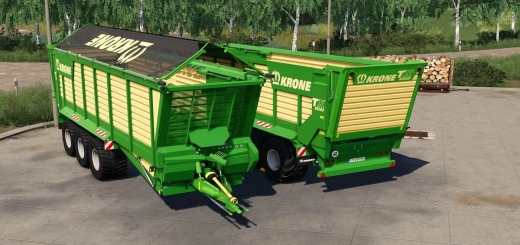 Photo of FS19 – Krone Tx 560 D Trailer V1.0