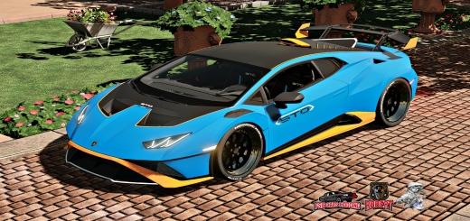 Photo of FS19 – Lamborghini Huracan Sto V1.0