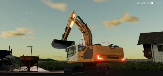 Photo of FS19 – Liebheer R-926 Crawler Excavator V1.0