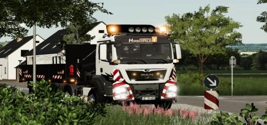 Photo of FS19 – Man Kran Truck V1.0