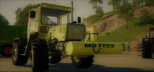 Photo of FS19 – Mb-Trac Weight V1.4