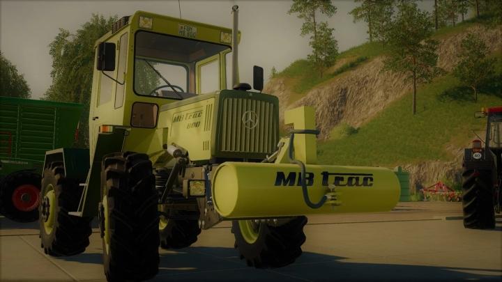 FS19 - Mb-Trac Weight V1.4