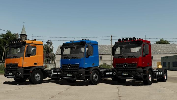 FS19 - Mercedes-Benz Arocs 4X2 V2.0