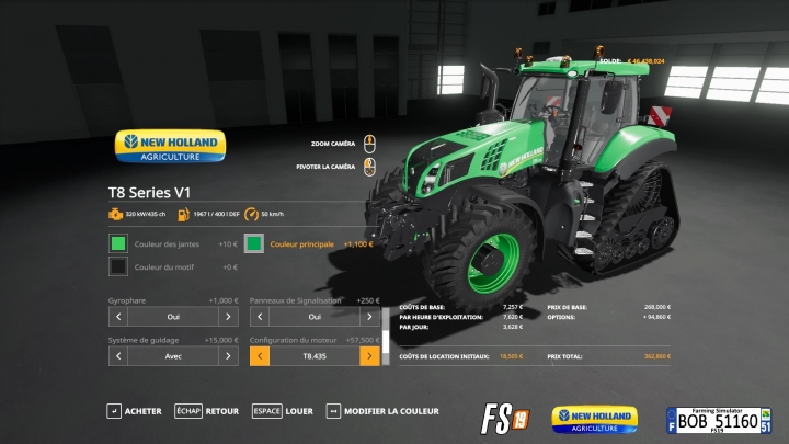 FS19 - New Holland T8 V1 & V2