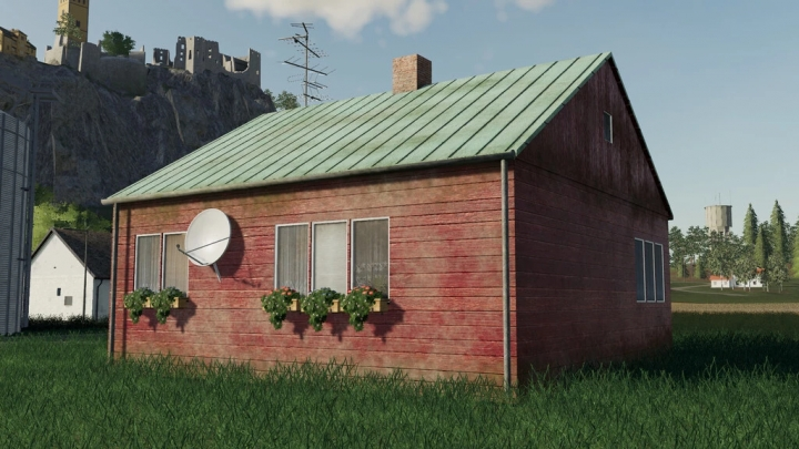 FS19 - Old Medium House V1.0