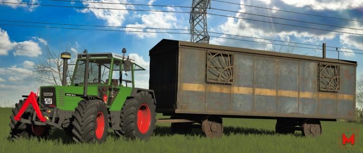 FS19 - Old Wagon V1.0