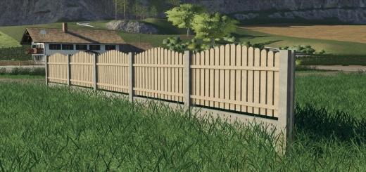 Photo of FS19 – Pack Of Old Fence Homemadde V1.0