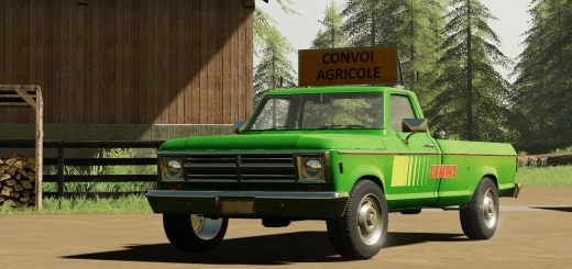Photo of FS19 – Pickup Rodeo V1.0