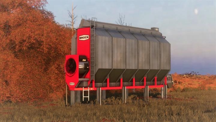 FS19 - Placable Brock Corn Dryer V1.0