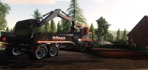 Photo of FS19 – Rosab Volvo Ew160 Excavator V1.0