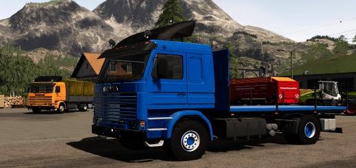 Photo of FS19 – Scania 113H Sidedoors Truck V2.0