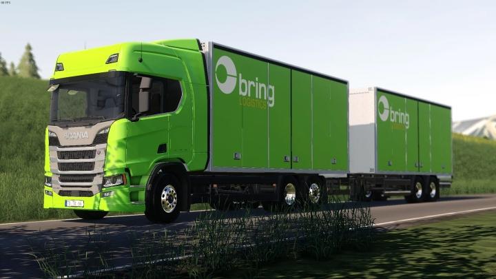FS19 - Scania R Box Truck V1.0
