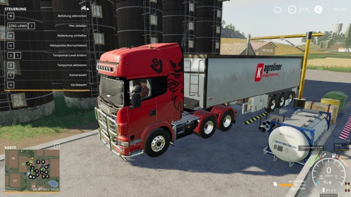 FS19 - Scania R730 Semi 3 Axle V1.0.0.4