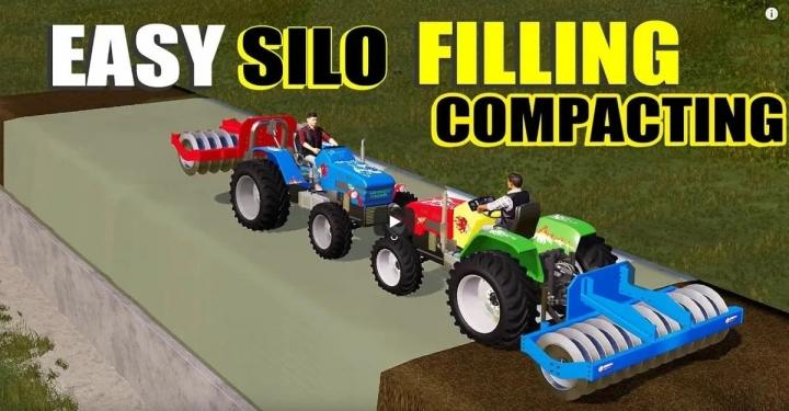 FS19 - Silage Roller V1.0