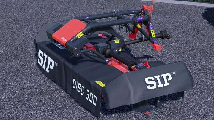 FS19 - Sip Silvercut Disc 300 F S-Flow V1.0