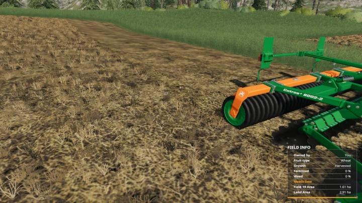 FS19 - Stubble Cultivator V1.0.1.0