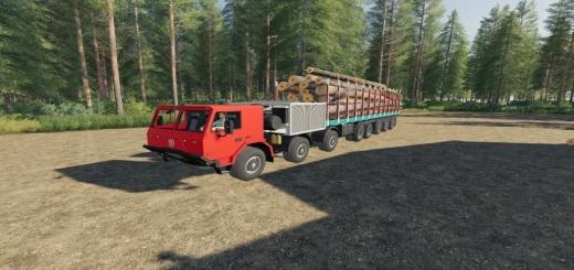 Photo of FS19 – Tatra 16X16 Les V1.0