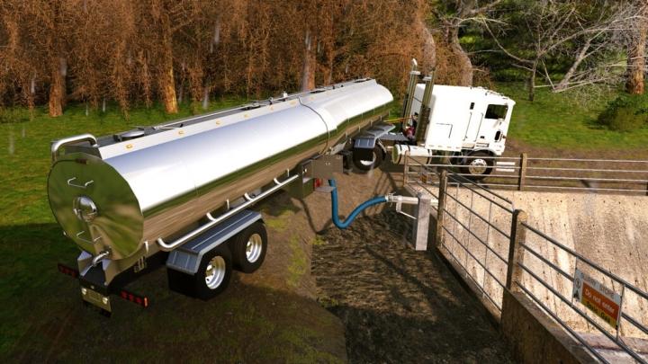 FS19 - Tlx 48Ft Tanker Trailer V1.1