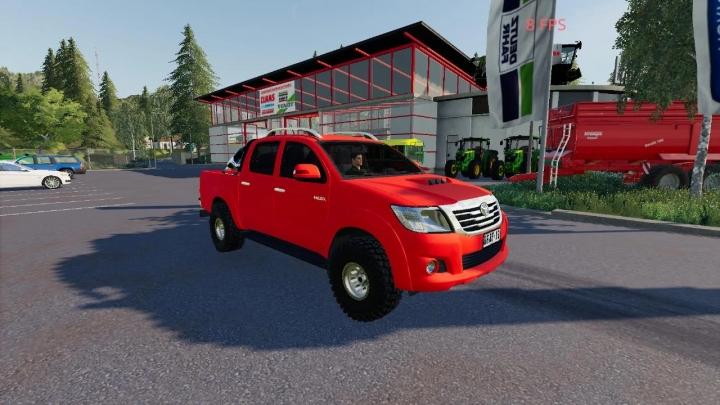 FS19 - Toyota Hilux 2012 V1.0