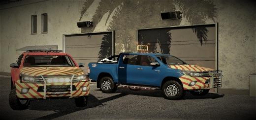 Photo of FS19 – Toyota Hilux Pilotcar V2.3