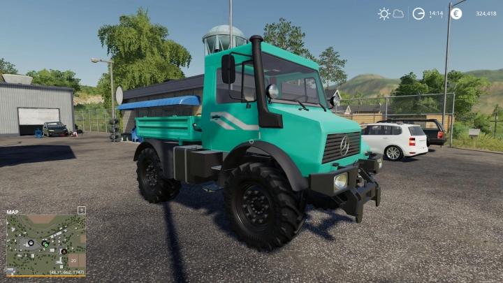 FS19 - Unimog U90 V1.0
