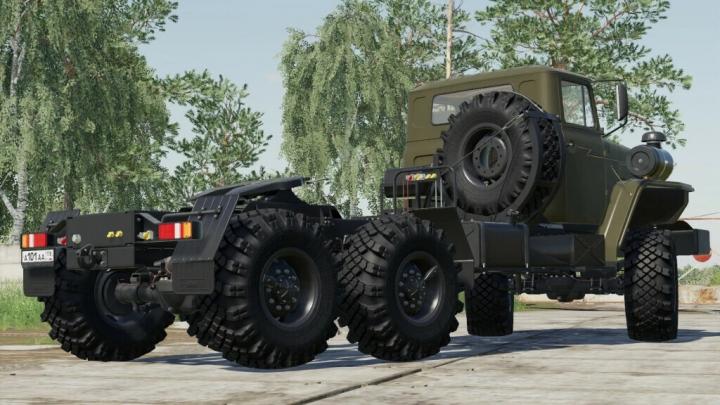FS19 - Ural 44202 V1.0.2.0