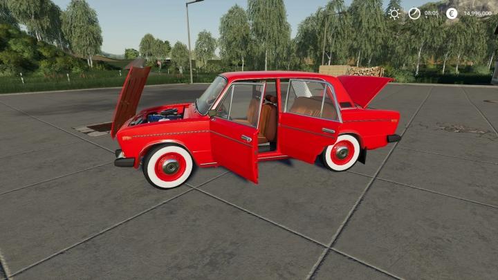 FS19 - Vaz 2106 / Lada 1600 V2.0