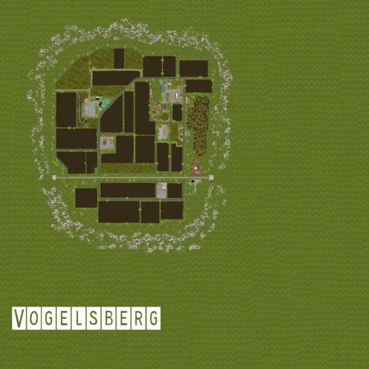 FS19 - Vogelsberg Map V1.1