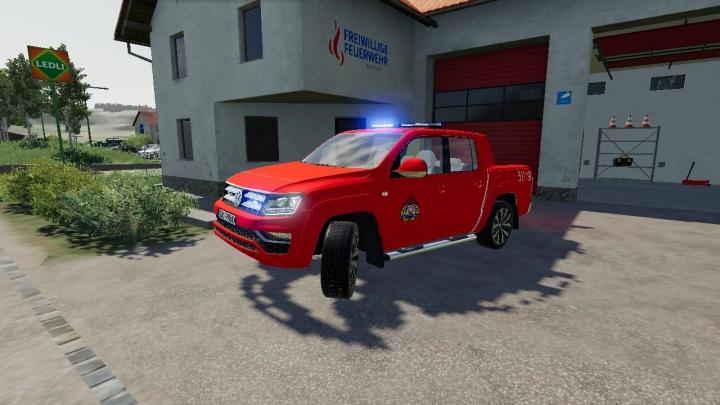 FS19 - Volkswagen Amarok Wersja Czerwona V3.0