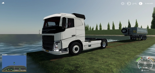 Photo of FS19 – Volvo Fh16 Lowroof V1.2