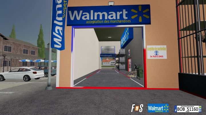 FS19 - Walmart Supermarket V2.0