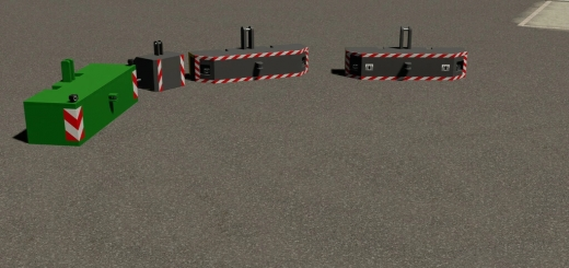 Photo of FS19 – Weight Pack 600/1000/1600Kg V1.2