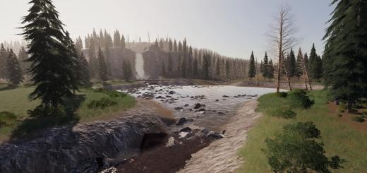 Photo of FS19 – Yukon River Valley Map V2.4