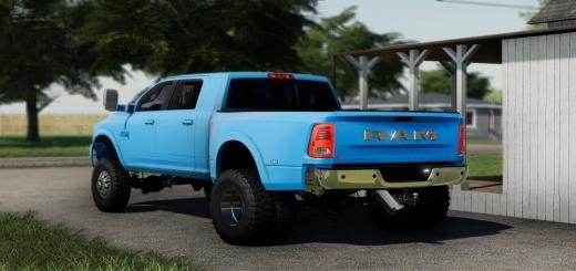 Photo of FS19 – 2018 Dodge Ram Megacab V1.0