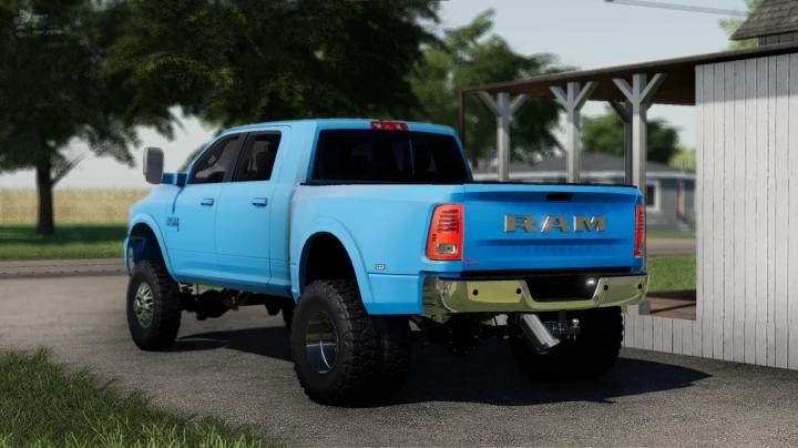 FS19 - 2018 Dodge Ram Megacab V1.0