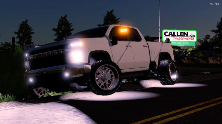 FS19 - 2020 Chevy Edit Of Artist Jack Modding Truck V1.0