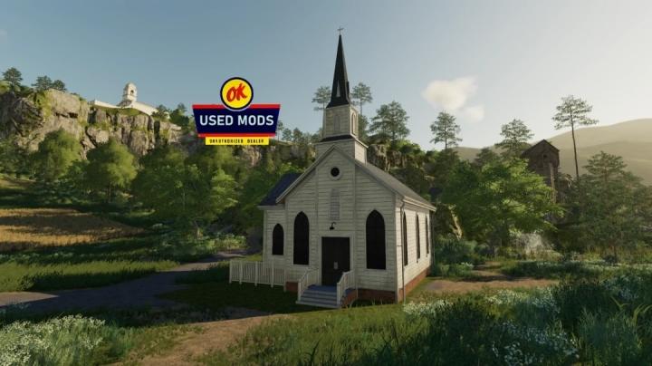 FS19 - A-Ok Placable Church V1.0
