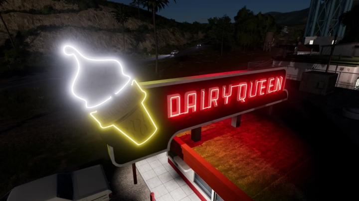 FS19 - A-Ok Placable Dairy Queen V1.0