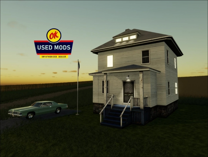 FS19 - A-Ok Placable Old House V1.0