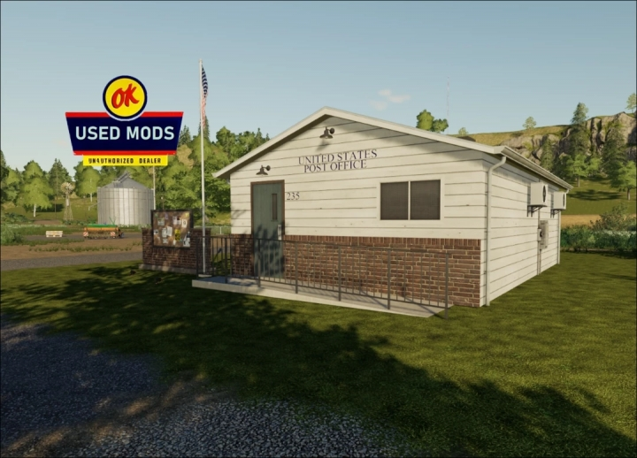 FS19 - A-Ok Placable Post Office V1.0