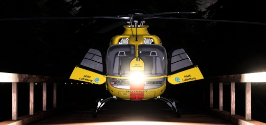 Photo of FS19 – Adac Eurocopter Ec135 Adac V1.0
