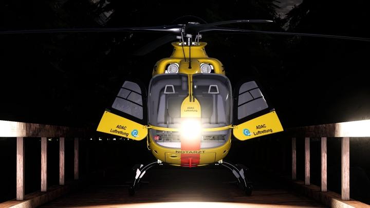 FS19 - Adac Eurocopter Ec135 Adac V1.0